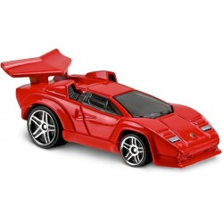 Hot Wheels - Lamborghini Countach - 1/64eme  (Sous blister)