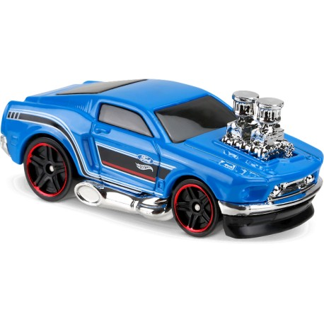 Hot Wheels - 68' Ford Mustang - 1/64eme (Sous blister)