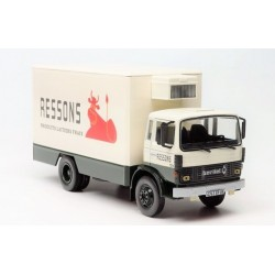 Camion Berliet Club Des 4 Cabine 870 (1978) Ressons Camion Frigo - 1/43eme en boite