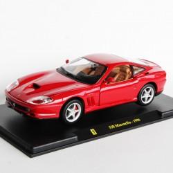 Ferrari 550 Maranello de 1996 - Burago - au 1/24 en boite