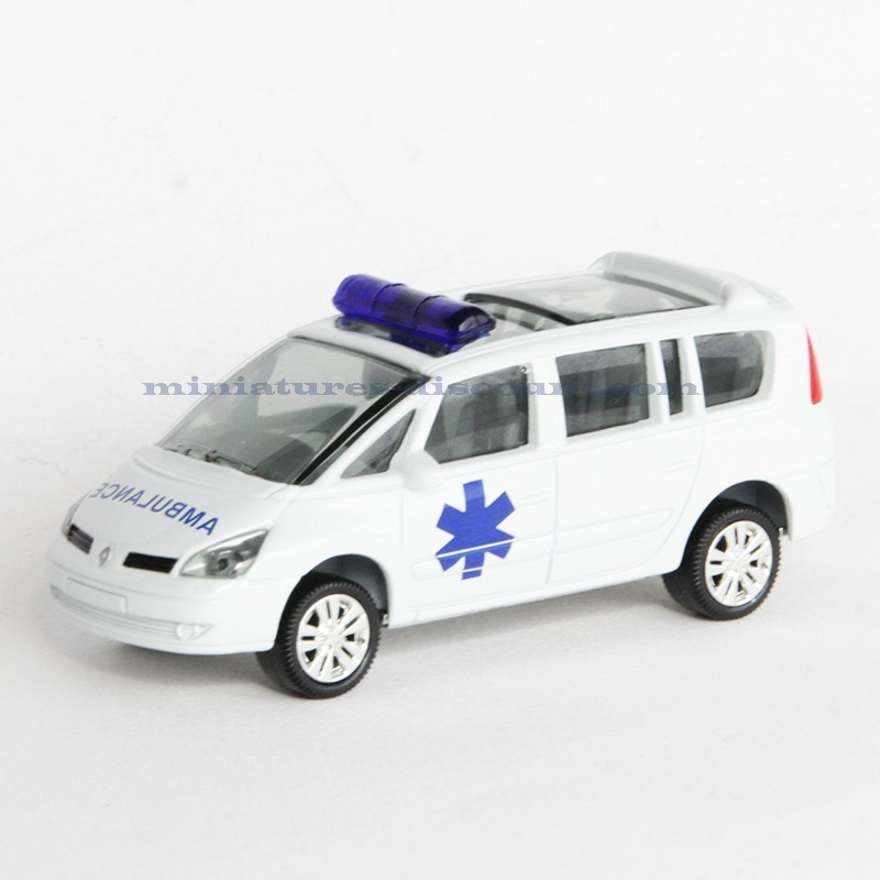 voiture ambulance club total 3inch en boite miniatures discount. Black Bedroom Furniture Sets. Home Design Ideas