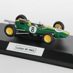 Lotus 25 de 1963 - au 1/43 en boite