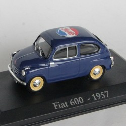 """Fiat 600 de 1957 Publicité """"PepsiCola"""" - au 1/43 en boite"""