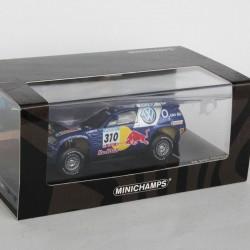 Volkswagen Race Touareg n°310 - Dakar Barcelone 2005 - Minichamps - au 1/43 en boite