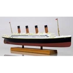 Paquebot RMS Titanic Miniature - 1-1250ème - en Bois et Résine en boite