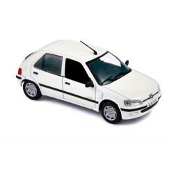 Peugeot 106 Blanche 1997 - Norev 1/43ème en boite