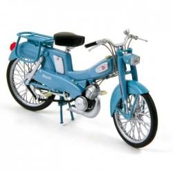 Motobecane AV 65 Mobylette Bleu 1965 - Norev 1/18ème en boite
