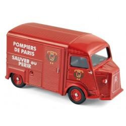 Citroen HY SAPEURS POMPIERS PARIS - Norev, 3 Inches en boite