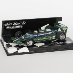 Martini Lotus 79 Carlos Reutemann 1979 MINICHAMPS - 1/43 en boite