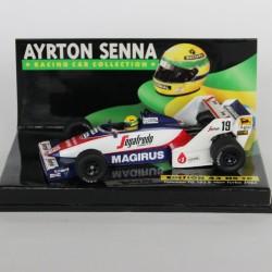 Ayrton Senna Toleman TG 183 B-Hart Turbo 1984 MINICHAMPS - 1/43 en boite