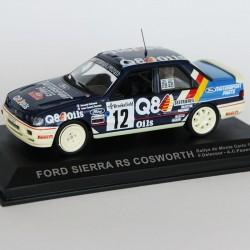 Ford Sierra RS Cosworth Rallye de Monte Carlo 1991 N°12 -F.Delecour & A.C Pauwels - 1/43 en boite