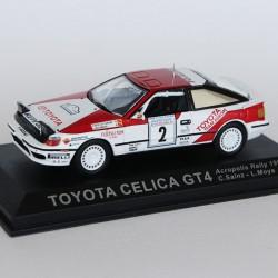 Toyota Celica GT4 Rally Acropolis N°2 - C.Sainz & L.Moya - 1/43 en boite