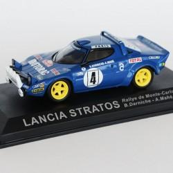 Lancia Stratos Rallye de Monte Carlo 1979 N°4 - B.Darniche & A.Mahé - 1/43 en boite