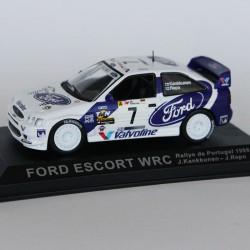 Ford Escort WRC Rallye du Portugal 1998 N°7 - J.Kankkunen & J.Repo - 1/43 en boite