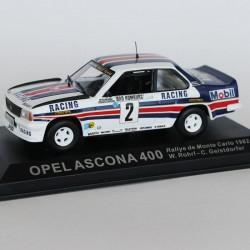 Opel Ascona 400 Rallye de Monte Carlo 1982 N°2 - W.Rohrl & C.Geistdorfer - 1/43 en boite