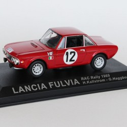 Lancia Fulvia RAC Rally 1969 N°12 - H.Kallstrom & G.Haggbom - 1/43 en boite