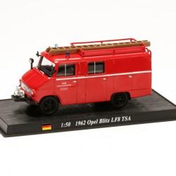 Opel Blitz LF8 TSA - Pompier Allemagne - 1/50 sous blister