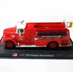Pumper International 1953 - Pompier USA - 1/57 sous blister