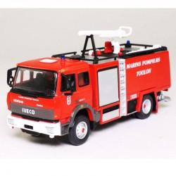 Iveco 2000 FMOGP Pompiers de Toulon - Pompier France - 1/64 sous blister