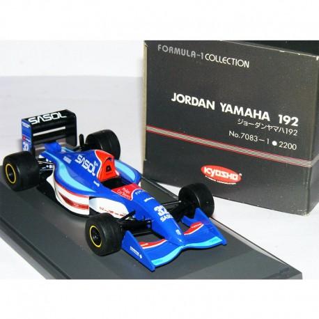 Jordan Yamaha 192 - Kyosho - au 1/43 en boite
