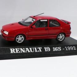 Renault 19 16S 1992 - au 1/43 en boite