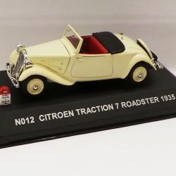 Citroen Traction 7 Roadster 1935 - Nostalgie - au 1/43 en boite