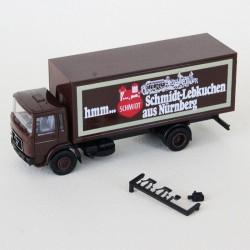 Camion MAN Transport SCHMIDT - Herpa - 1/87eme - en boite