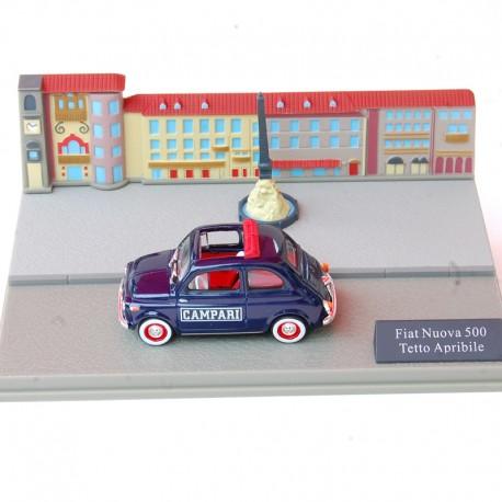 Fiat Nuova 500 Tetto Aprebile 1/43 en boite