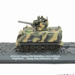 CHAR - TANK M163 A1 Vulcan 5th bataillon 2nd Artillery regiment dong tam (vietnam) 1969 1/72 Eme