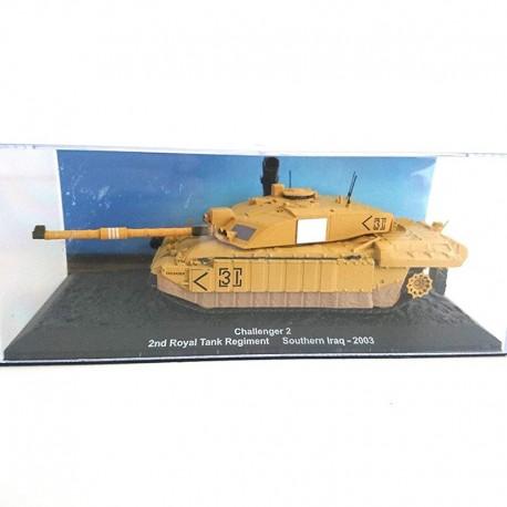 CHAR - TANK challenger2 . 2nd Royal tank regiment southeren iraq - 2003 1/72