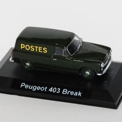 Peugeot 403 Break - La Poste - au 1/43 en boite