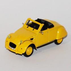 Citroen 2 Cv Cabriolet - Norev - au 1/43 sans boite
