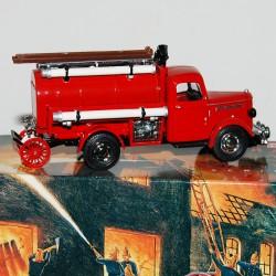 Camion de Pompier Bedford Tanker 1939 Matchbox - 1/43 en boite