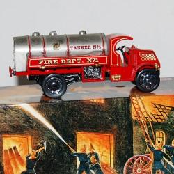 Camion Citerne 1923 Mack AC Pompier Matchbox - 1/43 en boite
