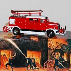 Camion de Pompier Mercedes 1938 Matchbox - 1/43 en boite