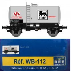 REE WB-112 - Wagon Citerne Ep.IV