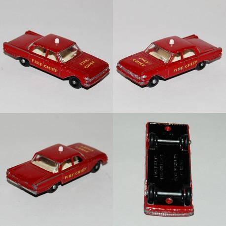 Ford Fairlane Fire Chiefs Car n°59 lesney