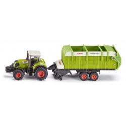 Tracteur avec Tremie de chargement Claas - 1846 Siku 1/87 En boite