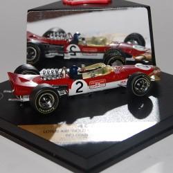 Lotus 49B GOLD LEAF JACKIE OLIVIER 1968 Quartzo 1/43