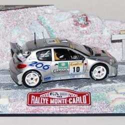 Peugeot 206 WRC Grise 1/43