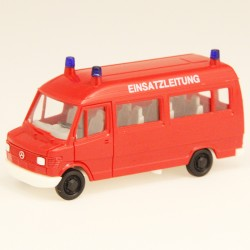 Mercedes Ambulances Pompiers Herpa 1/87 Sans Retroviseurs