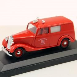 Mercedes 170 Van Pompiers Feuerwehr Mulhausen - en boite