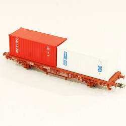 Wagon Electrotren porte container HO