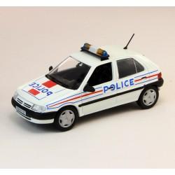 Citroen Saxo - Police - Norev 1/43eme