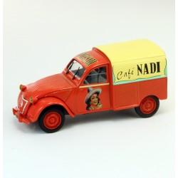 Citroen 2cv CAFE NADI - Norev 1/43ème
