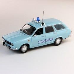 Renault 12 Break  - Gendarmerie - Norev 1/43eme