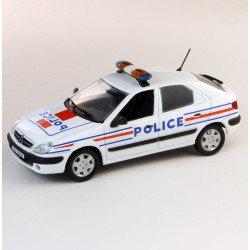 Citroen Xsara  - Police - Norev 1/43eme