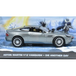 Aston Martin V12 Vanquish - Die Another Day - James Bond - au 1/43 en boite