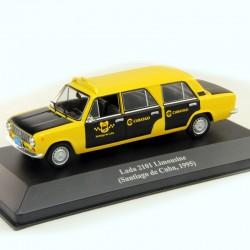 Lada 2101 Limousine Taxi Santiago de Cuba 1995 - 1/43eme