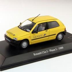 Renault Clio I Phase I 1989 - La Poste - 1/43eme